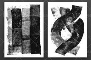 Rolled ink Textures Preview