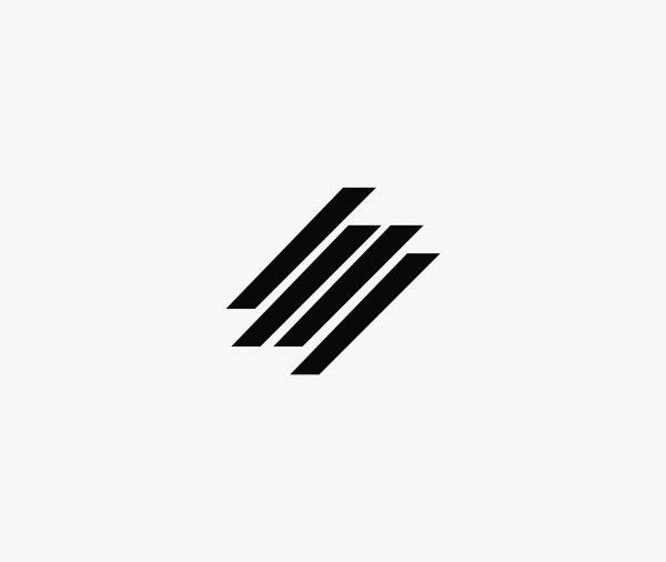 Abstract Four Line Logo