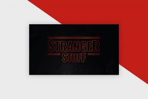 Stranger Stuff - Photoshop Text Template