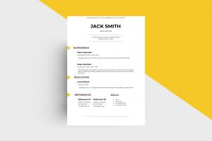 CV/Resume - Sales Associate II Template
