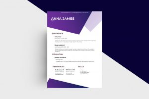 CV/Resume - Intern II Template