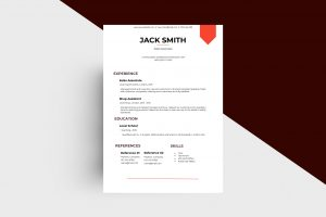 CV/Resume - Sales Associate III Template