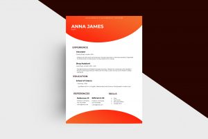 CV/Resume - Intern I Template