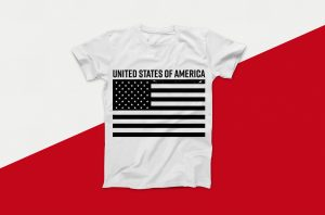 United States of America Flag Distressed Vector