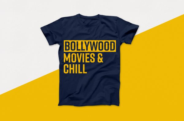 Bollywood Movies & Chill Vector