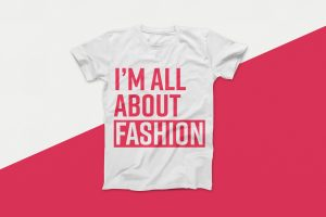 I'm All About Fashion Vector