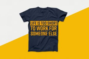 Life is Too Short To Work Vector