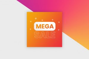 Instagram Post Template - Sale Banner II