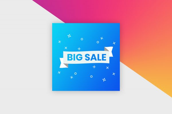 Instagram Post Template - Sale Banner III