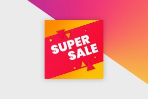 Instagram Post Template - Sale Banner IV
