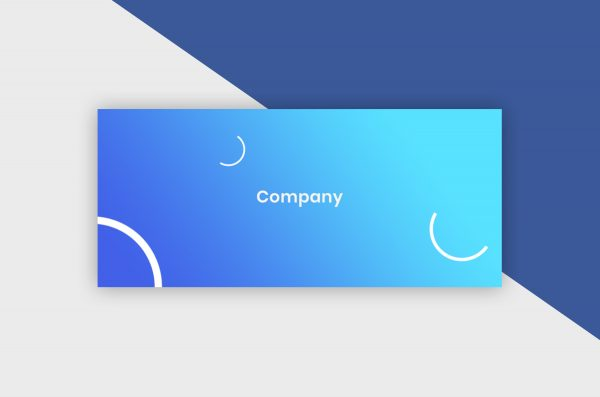 Facebook Cover Template - Gradient Company I
