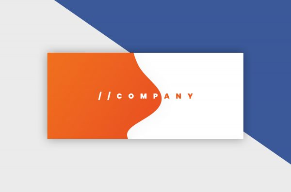 Facebook Cover Template - Gradient Company IV