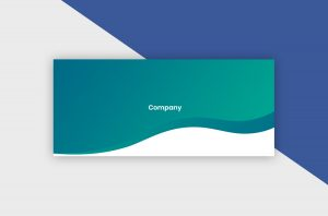 Facebook Cover Template - Gradient Company V