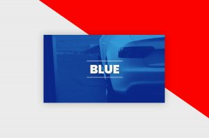 YouTube Thumbnail Template - Gradient Blue
