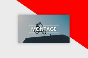 YouTube Thumbnail Template - Montage