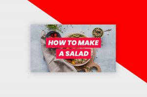 YouTube Thumbnail Template - Cooking Tutorial