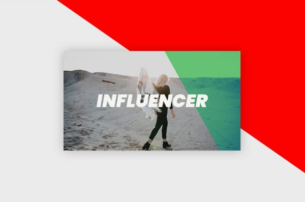 YouTube Thumbnail Template - Influencer Vlog