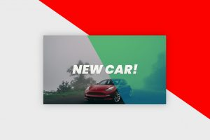 YouTube Thumbnail Template - New Car Vlog
