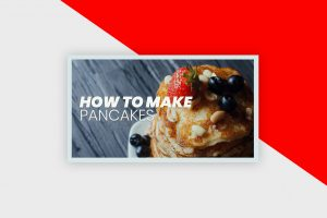 YouTube Thumbnail Template - How To Make Pancakes