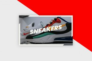 YouTube Thumbnail Template - Sneakers