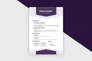 CV/Resume – Account Manager I Template