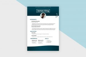 CV/Resume – Social Media Manager III Template