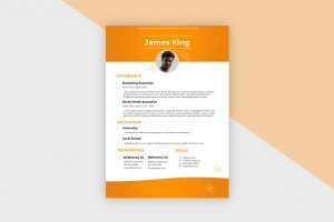 CV/Resume – Social Media Manager II Template