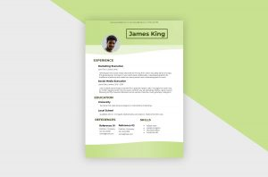 CV/Resume – Social Media Manager IV Template