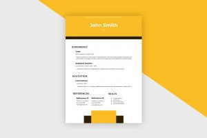 CV/Resume – Tutor III Template