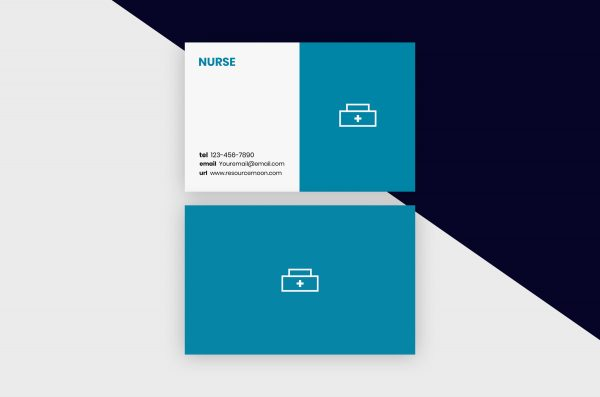 Business Cards Template – Nurse