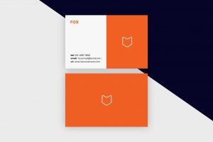 Business Cards Template – Fox Minimal