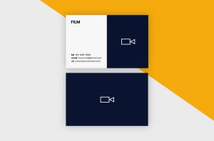Business Cards Template – Film Minimal