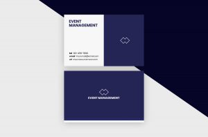 Business Cards Template – Event Management
