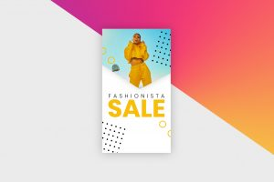 Instagram Story Template - Fashion Sale I