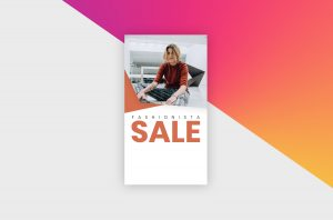 Instagram Story Template - Fashion Sale III