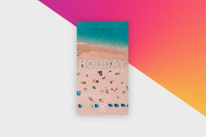 Instagram Story Template - Holiday Vlog XI