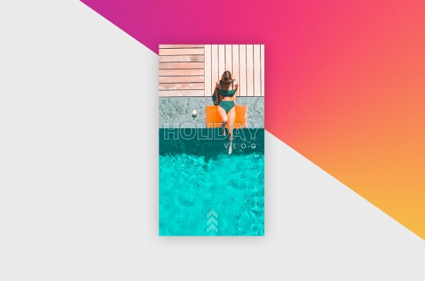 Instagram Story Template - Holiday Vlog X