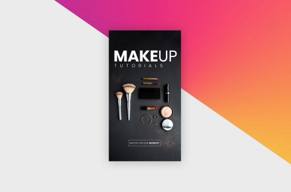 Instagram Story Template - Makeup II