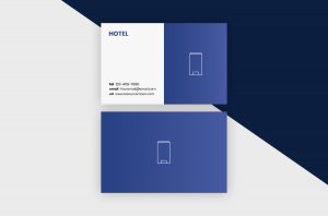 Business Cards Template – Hotel III