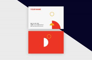 Business Cards Template – Minimal Shapes I