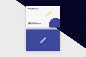 Business Cards Template – Minimal Shapes II