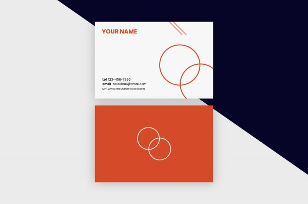Business Cards Template – Minimal Shapes III