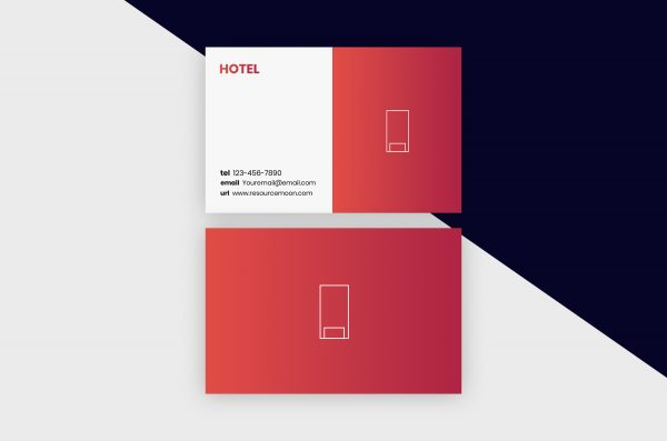Business Cards Template – Hotel I