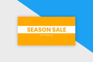 Twitter Post Template - Season Sale III