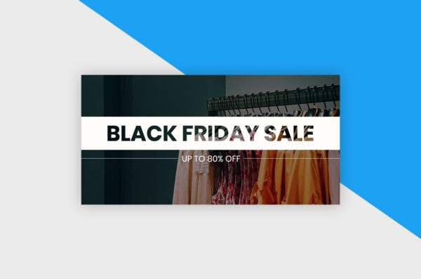 Twitter Post Template - Black Friday Sale I