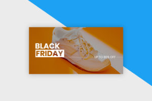 Twitter Post Template - Black Friday Sale II