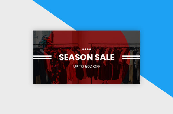 Twitter Post Template - Season Sale I