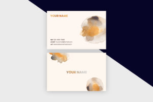 Business Cards Template – Paint Marks I