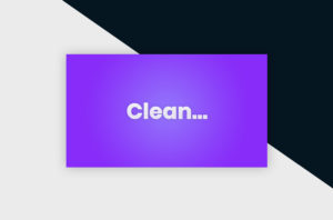 Photoshop Text Template - Clean 3D Text I