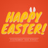 Photoshop Text Template - Happy Easter 3D Text III